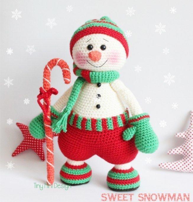 Muñeco de nieve gnomo