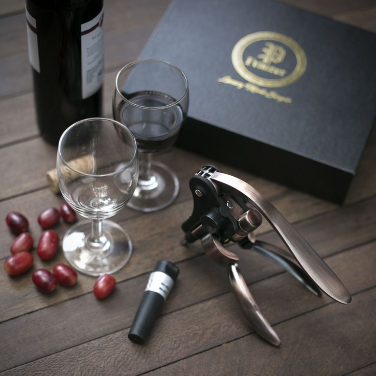 Stunning screwpull wine opener. The perfect gift for wine lovers. Get yours at www.primeurwine.com
