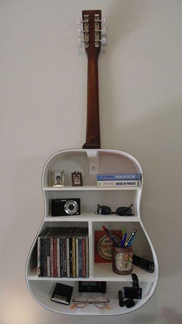 Reaproveite um violão