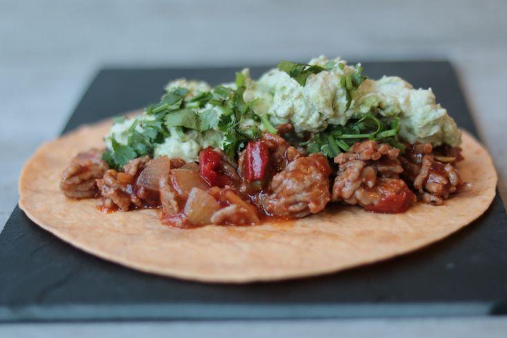 Koolhydraatarme mexicaanse tortilla!