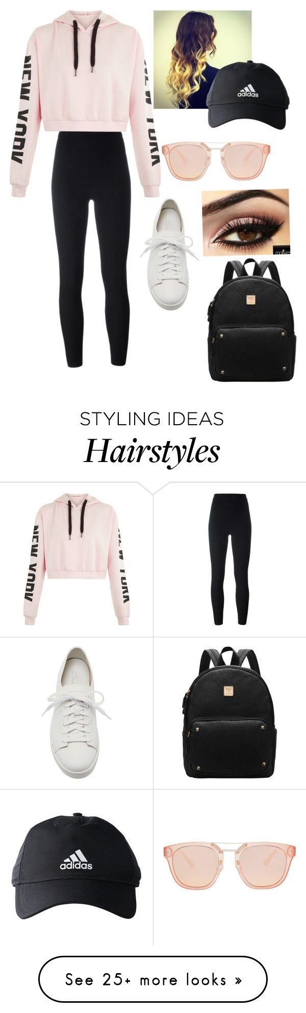 """""""Untitled #389"""" by kaitlyn-skaggs on Polyvore featuring Yeezy by Kanye West, Santoni and adidas"""