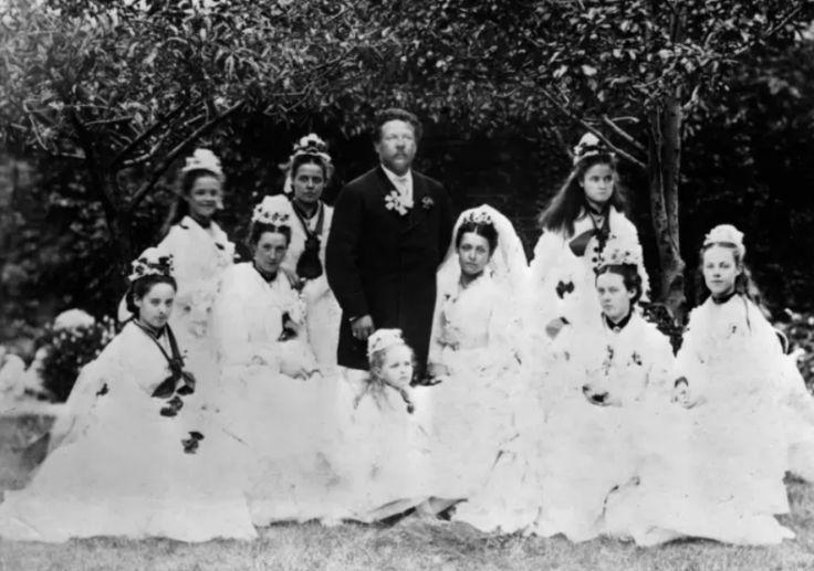 fotos de casamento antigo