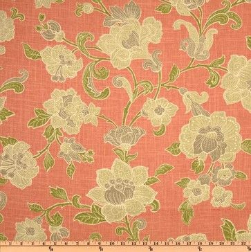 salmon print fabrics - Google Search