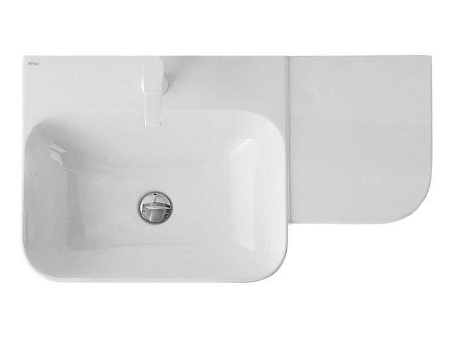 Cover lavabo asimmetrico cm 80 dx bagno pinterest - Mobile bagno asimmetrico ...
