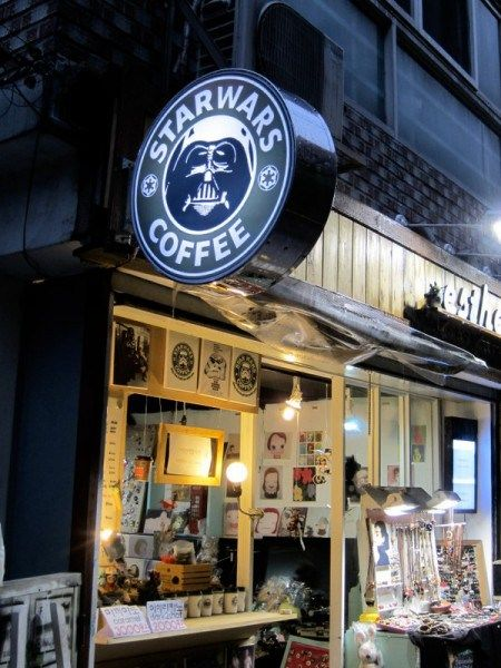Star Wars Coffee in Hongdae (Seoul)