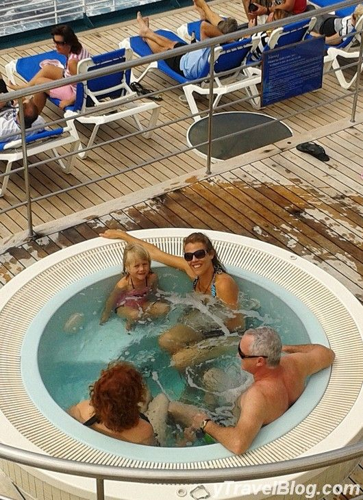 Fun in the Hot Tub on P & O Pacific Dawn: http://www.ytravelblog.com/memorable-moments-on-the-p-o-pacific-dawn/