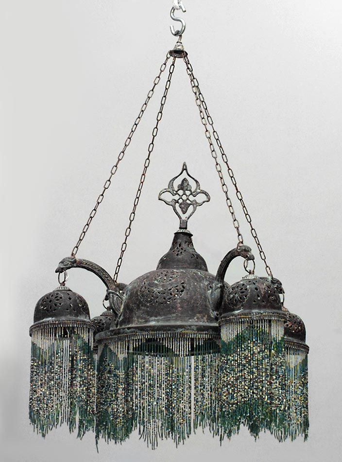 78 best images about moorish syrian on pinterest pewter copper and lighting - Moorish chandelier ...