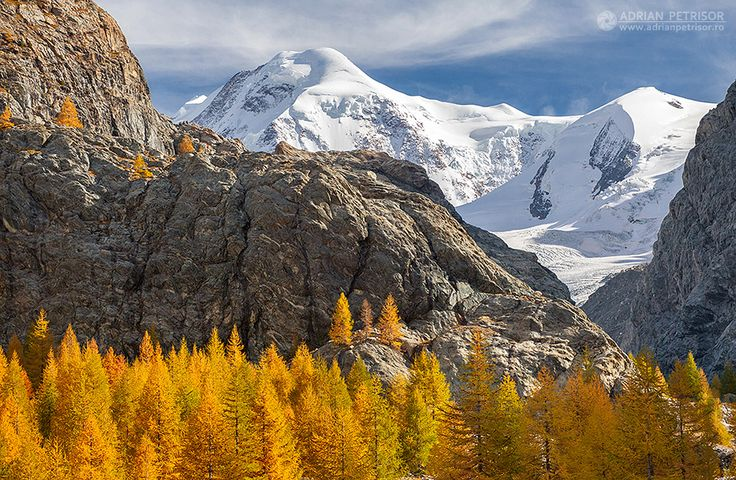 Fall in Alps.