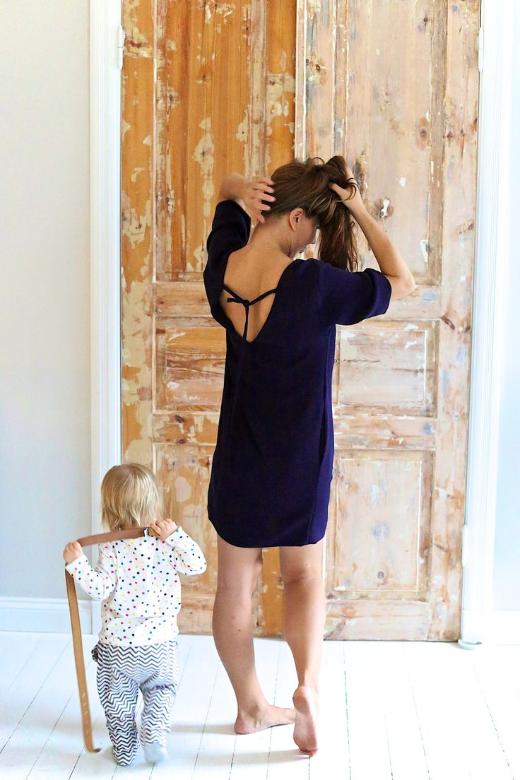 DIY dress by Burda