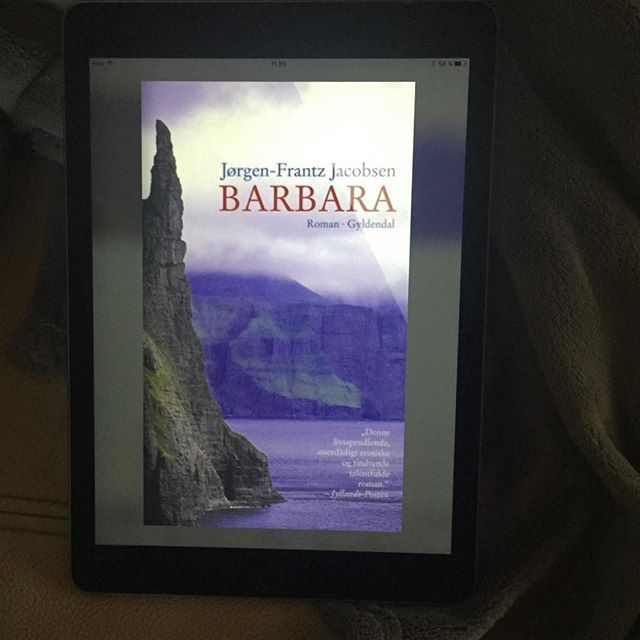 51/52 - A book my mum loves. Considering how little my mum reads I could have ended up reading fifty shades and I am so glad I didn't. Barbara was written by Faroese/Danish writer Jørgen-Frantz Jacobsen and is a beautiful interpretation of an old Faroese myth.