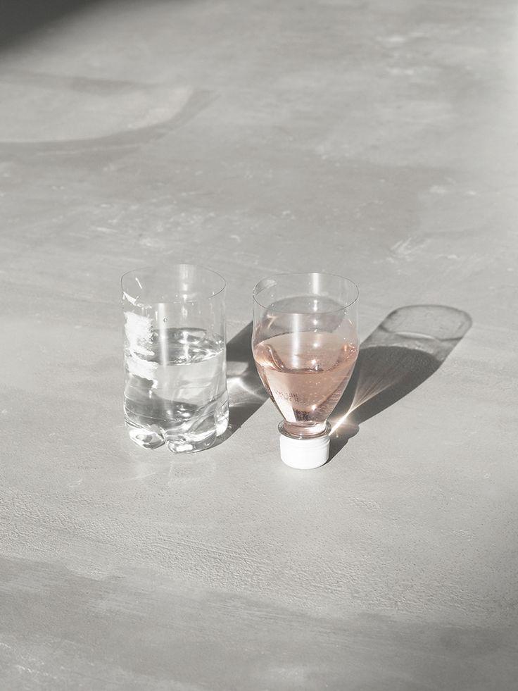 Plastic Bottle Wine Cups / via Love Aesthetics