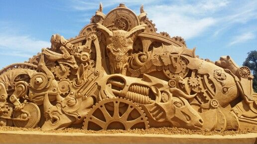 Sand sculptures frankston Australia