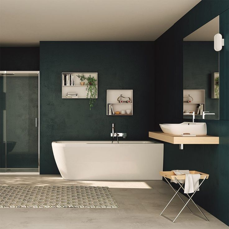 Inspiration med farver til  badeværelset-design4home