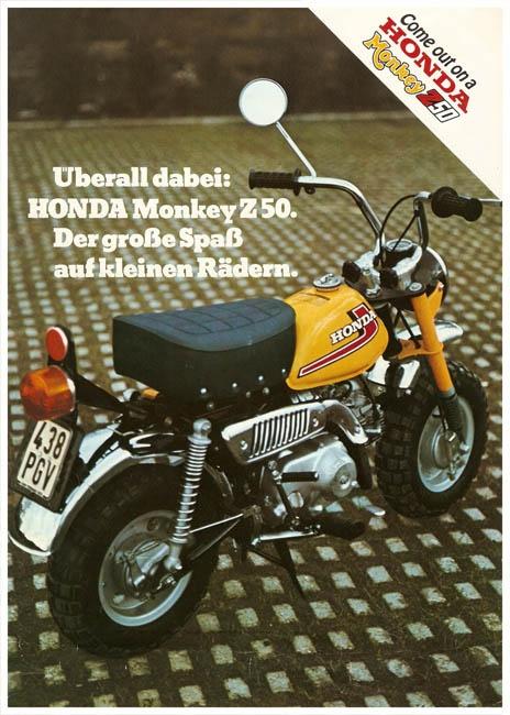 Honda Monkey Z 50 adv
