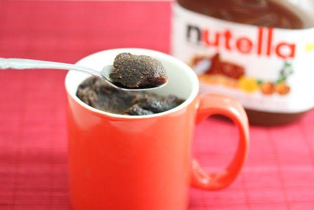 Flourless Nutella Mug Cake | Kirbie's Cravings | A San Diego food blog ...