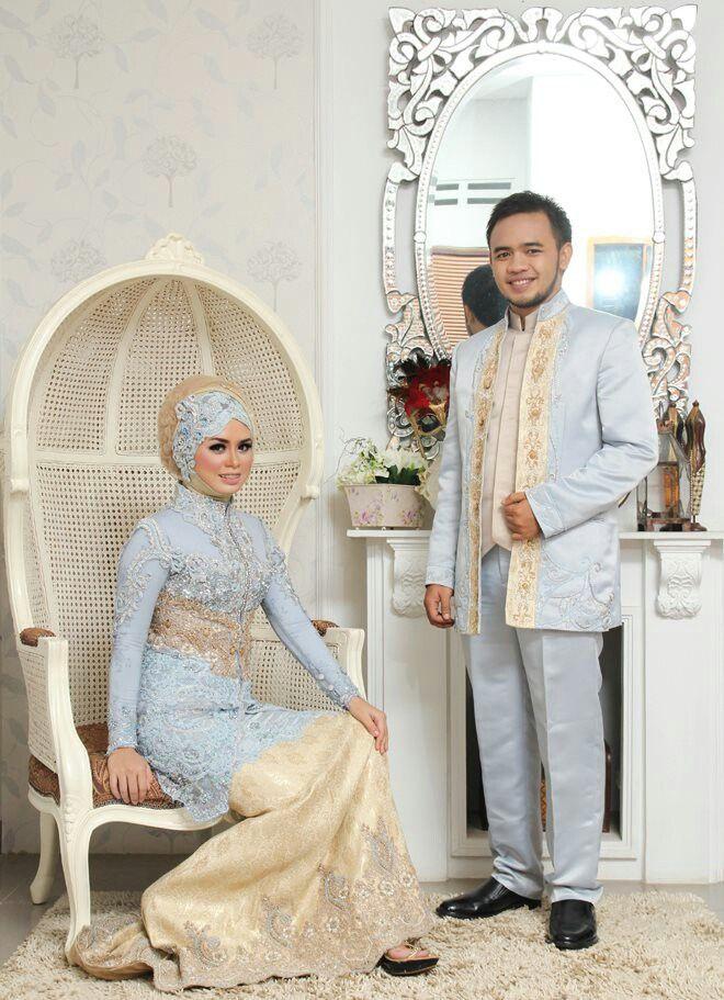 Raden annisa muslim wedd dress