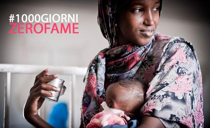 #1000GIORNIZEROFAME è la nuova campagna 2016-2018 a favore dei bambini.  MILLE GIORNI PER SALVARE LA VITA DI MAMMA E BAMBINO! 29 febbraio 2016 è partita la nuova campagna di NutriAid che avrà una durata triennale.  L'obiettivo è salvaguardare la vita di 60.000 bambini e 30.000 mamme in 3 anni garantendo cure e formazione sanitaria contro la malnutrizione.