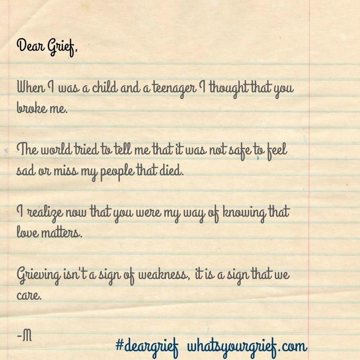 dear grief 1