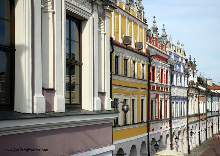 Kamienice Ormiańskie.   Armenian houses.  #zamość #zamosc #unesco #kamieniceormianskie #armienianhouses #tenements #oldtown #lubelskie #polska #poland #seeuinpoland