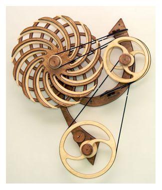 Fiesta Kinetic Sculpture by David C. Roy
