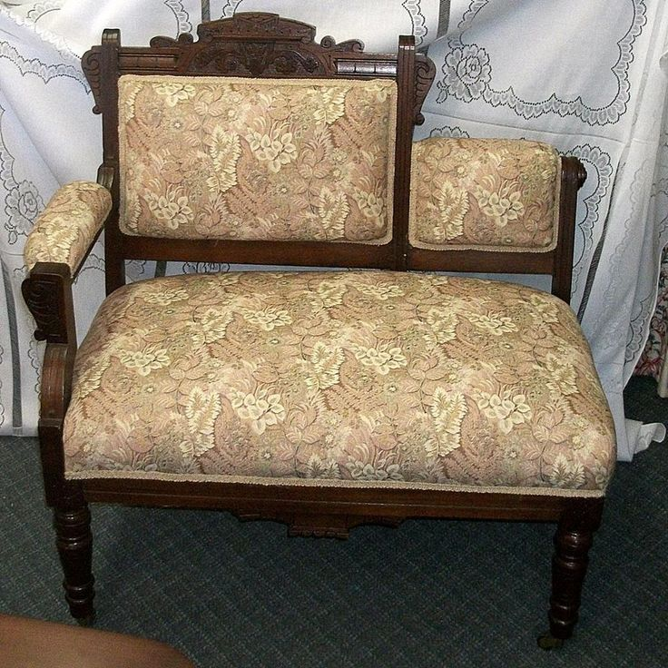 victorian eastlake settee benches gossip bench and settees