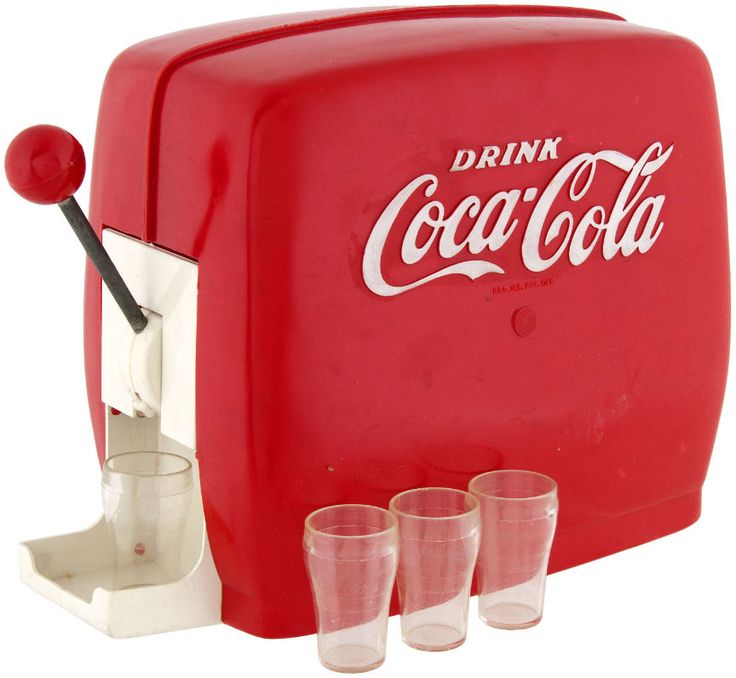 coca cola toy soda fountain machine my older sister u0026 i had this in our playhouse it used a regular glass bottle of coke inside that was tipped to pour