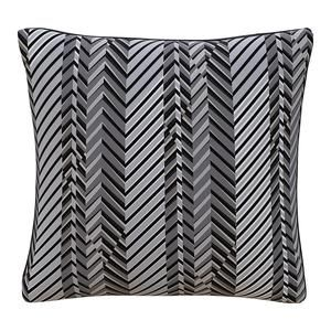 Peter Som x The Inside PS1 Black and Gray Pillow