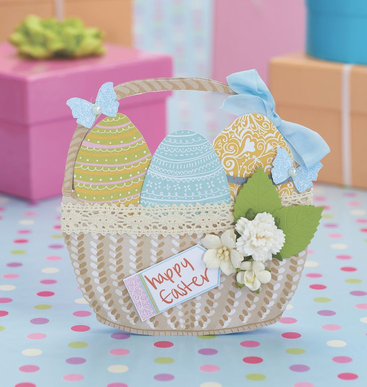 Free Easter printables, including baskets, eggs, flowers and bunnies! From Paper…   – cards I love