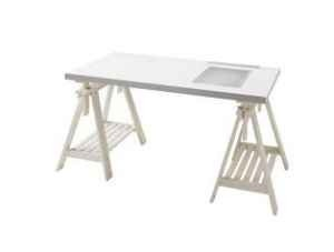 Ikea Artist Desk Want The One I Saw At Was All Gl
