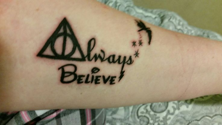 Das Ist Grossartig Geworden Glaube Immer Harry Potter Disney Tattoo Today Pin Harry Potter Disney Disney Tattoos Disney Tattoos Small
