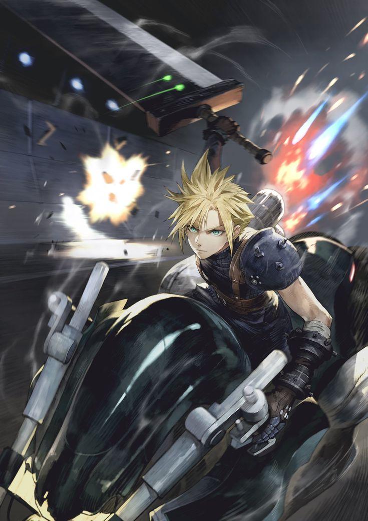Pin on Final Fantasy VII