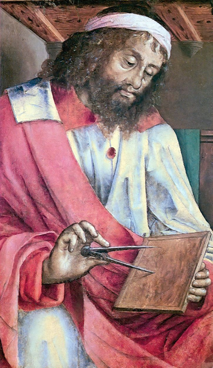 At about 330 BC, Euclid of Alexandria was born, who often is referred to as the Father of Geometry. His Elements is one of the most influential works in the history of mathematics, serving as the main textbook for teaching mathematics (especially geometry) from the time of its publication until the late 19th or early 20th century.