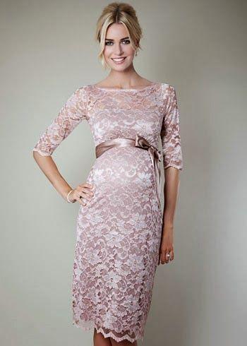 Fantasticos Vestidos de temporada para embarazadas