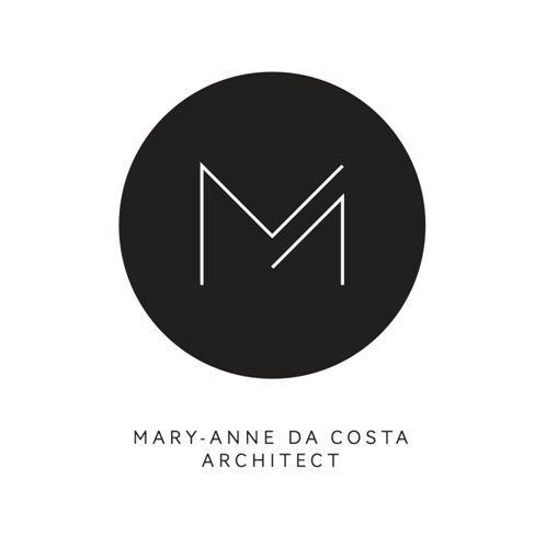 Beautiful, minimalist logo for Mary Anne da Costa // Architect - simple and modern branding