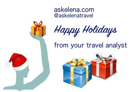 askelena.com Give the #gift of #travel this #festive #season.  Have a happy and prosperous #NewYear! Book your quality #holiday #rental #hotel in #Greece #Italy #Cyprus by mid #January #2017 and save! request@askelena.com