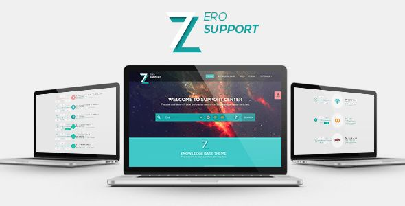 7ZERO | Support  #PSD Template  - Miscellaneous PSD Templates