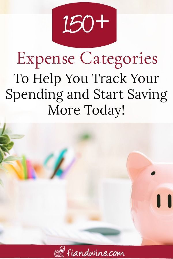 150+ Expense Categories to Help You Track Your Finances Budgeting