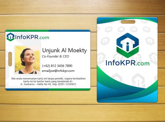 ID Card InfoKPR.com Redesign