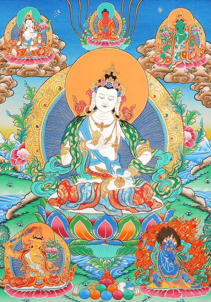 vajrasattva | Primordial Buddha Vajrasattva