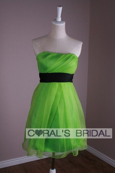 ms127f-strapless-short-bridesmaid-dress-green