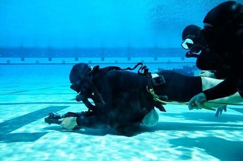 Entrenamiento bajo el agua, fundamental y parte clave para un #SEAL