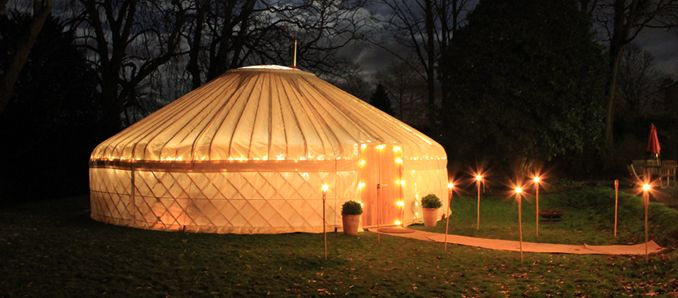 Yorkshire Yurts - great for a recreation room