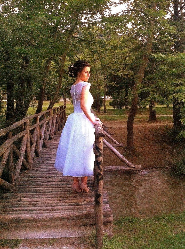"""The earth has music for those who listen"" #InternationalMotherEarthDay #meglam #realbride #outdoors #lovenature #uniqueweddingdress #handmade #greekdesigners"