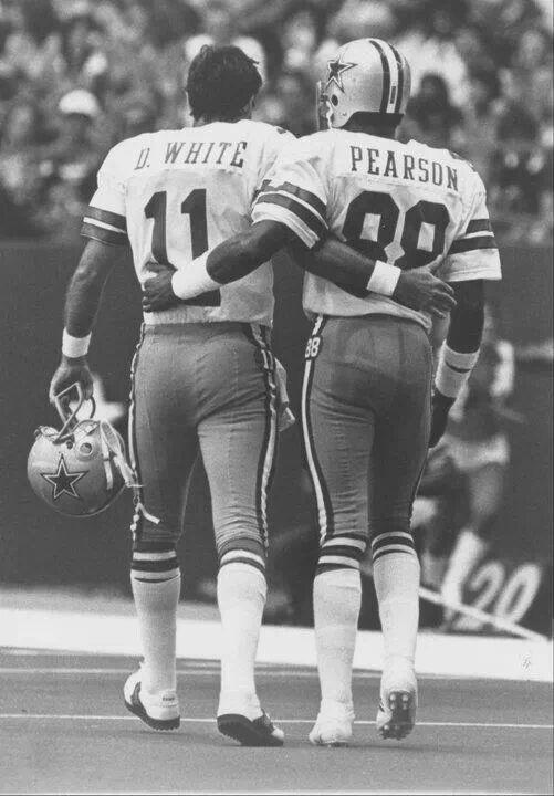 Dallas Cowboys Legends Danny White and Drew Pearson