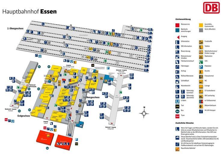 Essen hauptbahnhof map