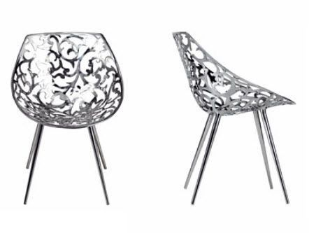 contemporary metal chair miss lacy by philippe starck. Black Bedroom Furniture Sets. Home Design Ideas
