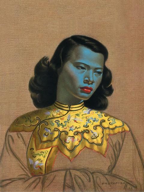 Chinese Girl -Tretchikoff Painting