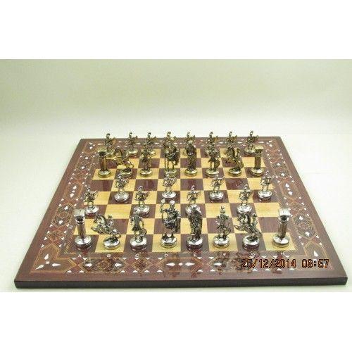 Satranç takimi - asali bizans askerleri ürünü, özellikleri ve en uygun fiyatların11.com'da! Satranç takimi - asali bizans askerleri, satranç kategorisinde! 50224102