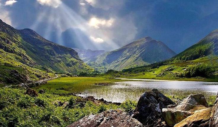 The Black Valley, Co. Kerry, Ireland (near Gap of Dunloe & Molls Gap in Ring of Kerry)