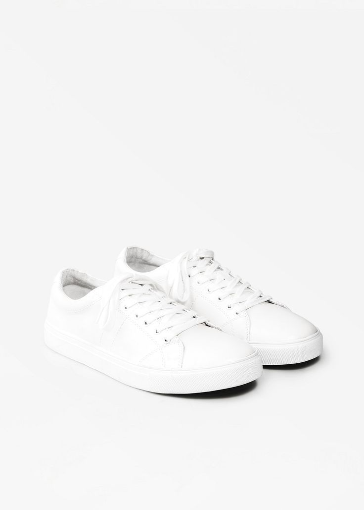 white sneakers for him